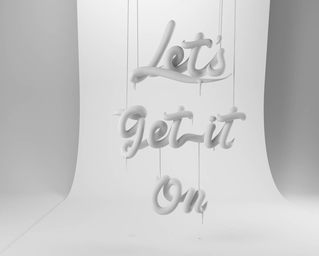 HOTPLASTIK CESS 3D 3DTYPE LETTERING CGI 3DARTIST