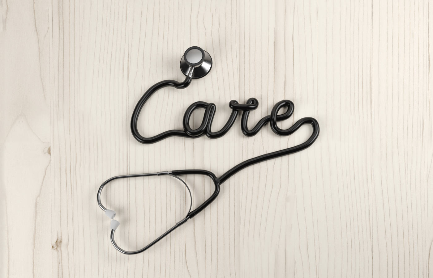 3DLETTERING CESS 3D 3DTYPE LETTERING CGI 3DARTIST MEDICAL CARE HOSPITAL