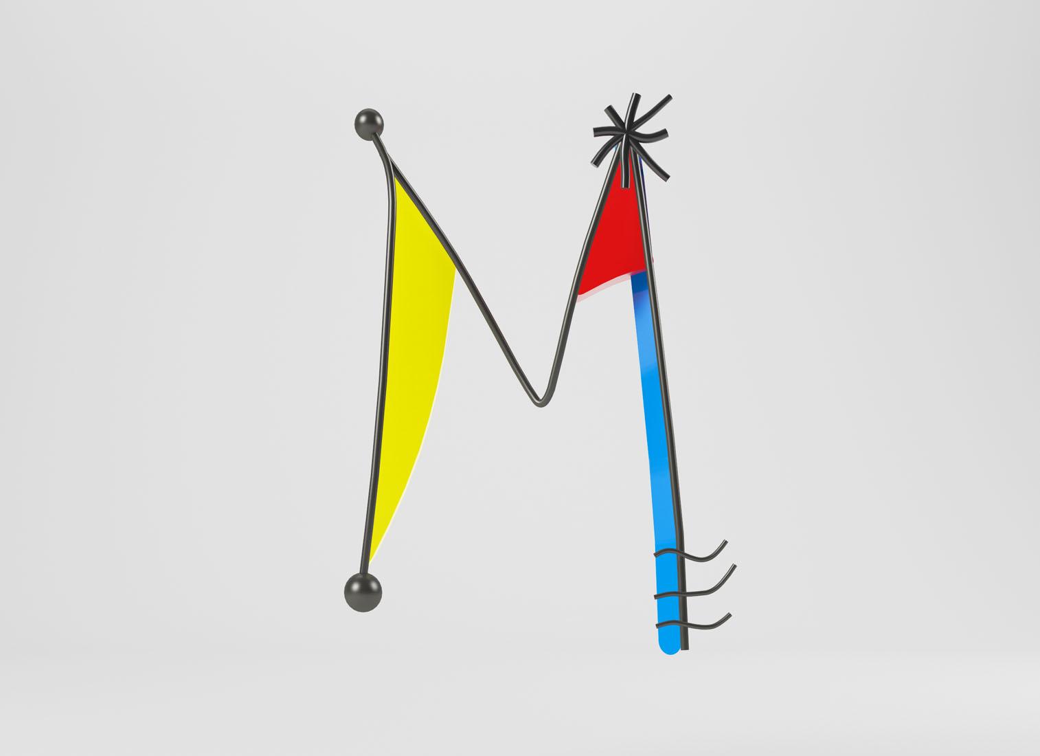 От Энди Уорхола до Эдварда Мунка: каждая буква этого шрифта посвящена великим художникам